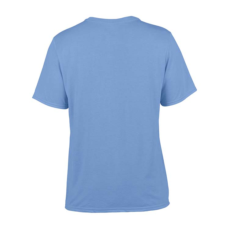 T-shirt Gildan Performance 42000 pour adulte - Bleu Caroline #5