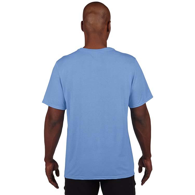 T-shirt Gildan Performance 42000 pour adulte - Bleu Caroline #2