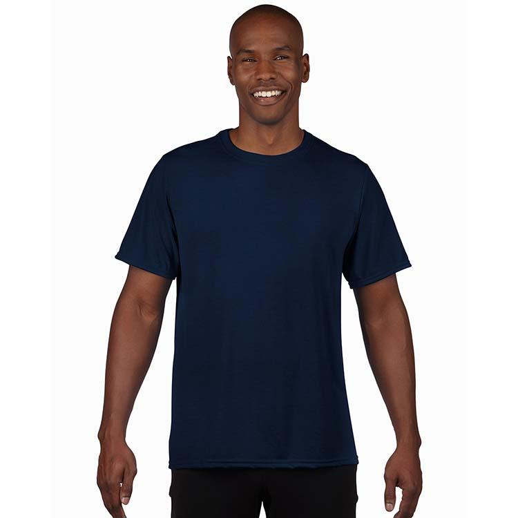 T-shirt Gildan Performance 42000 pour adulte - Bleu marin