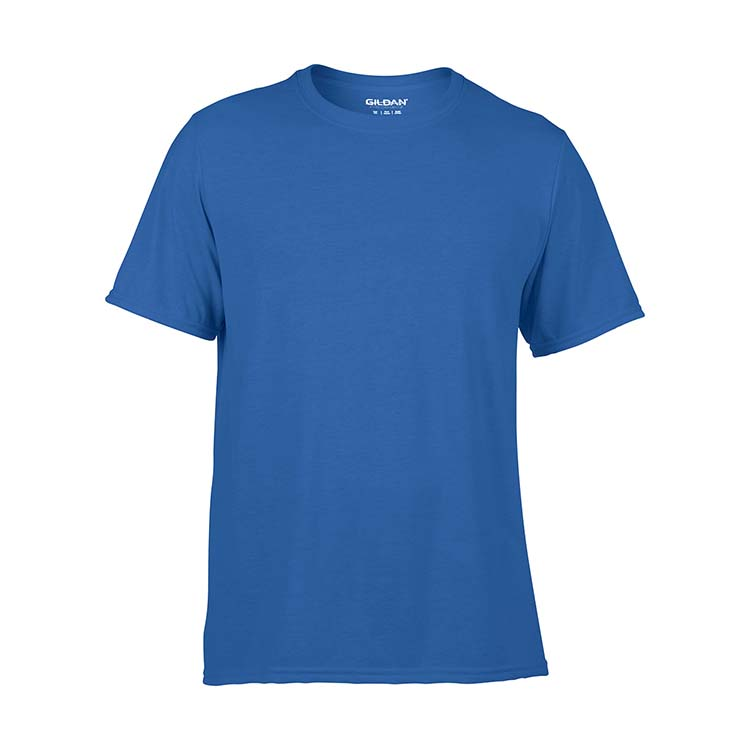 T-shirt Gildan Performance 42000 pour adulte - Bleu royal #3