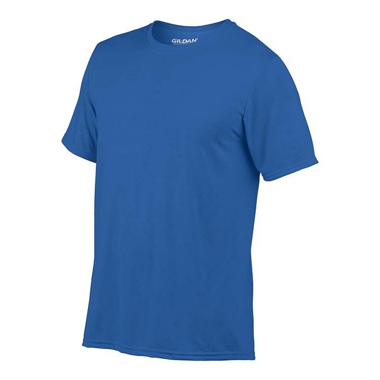 T-shirt Gildan Performance 42000 pour adulte - Bleu royal #4
