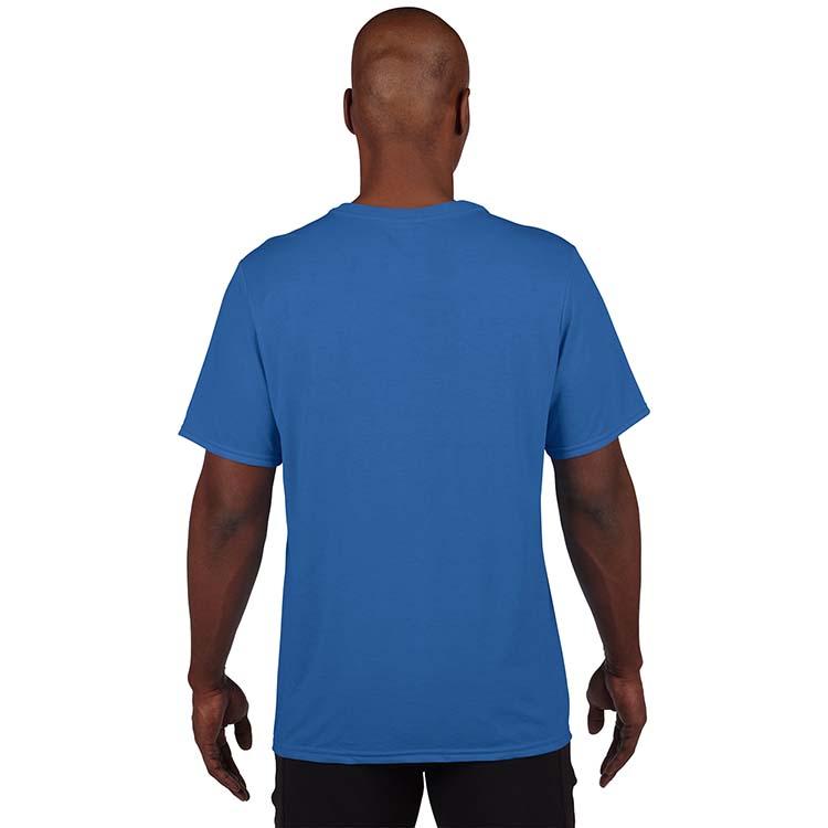 T-shirt Gildan Performance 42000 pour adulte - Bleu royal #2