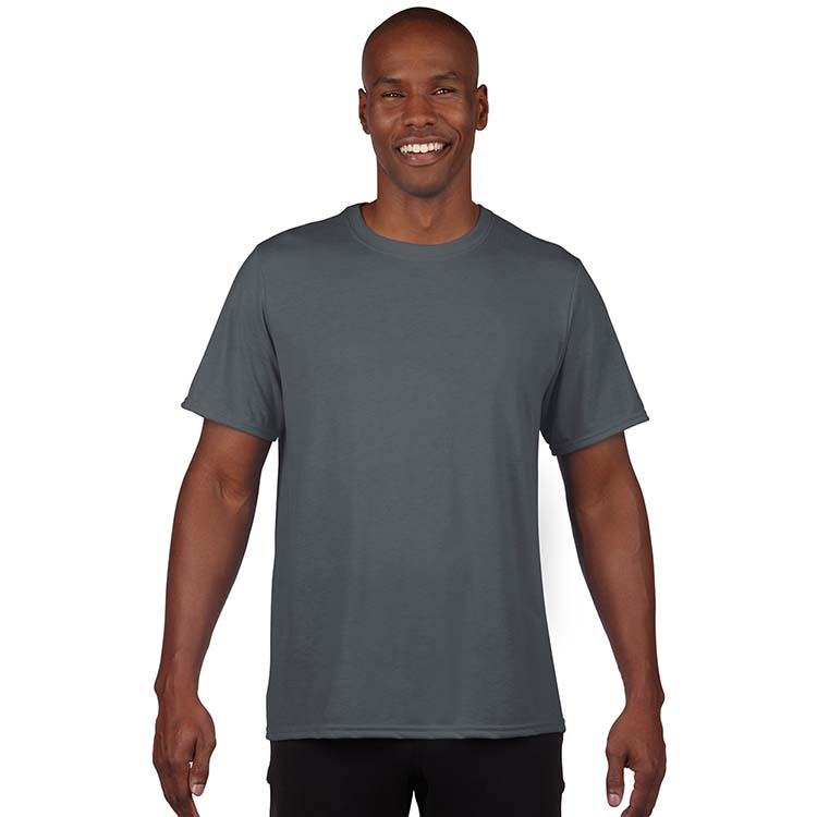 T-shirt Gildan Performance 42000 pour adulte - Charbon