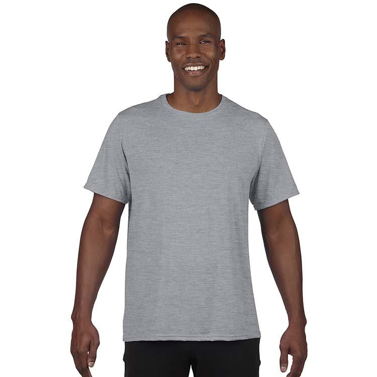 T-shirt Gildan Performance 42000 pour adulte - Gris sport