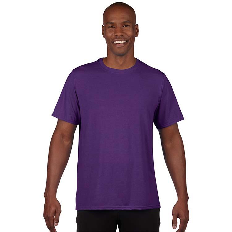 T-shirt Gildan Performance 42000 pour adulte - Mauve