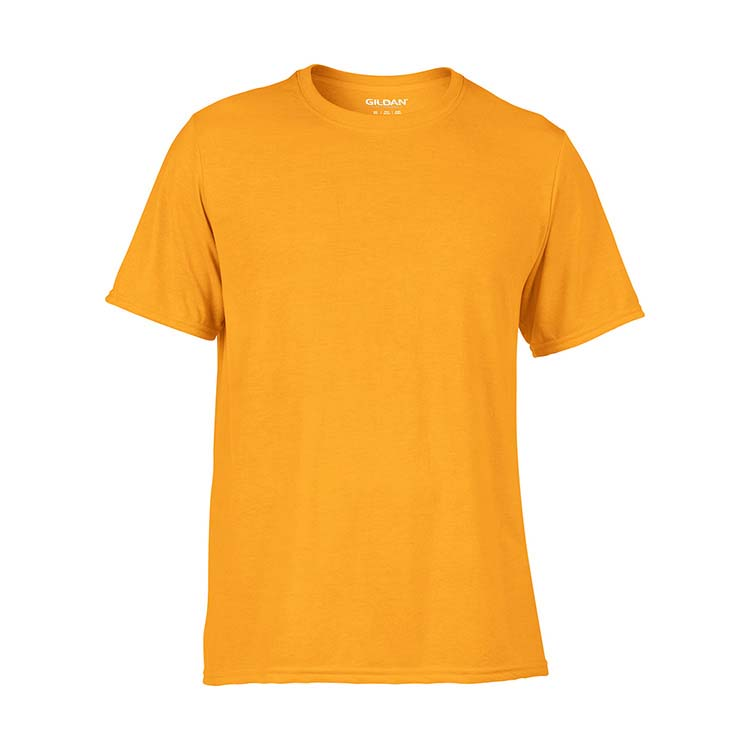 T-shirt Gildan Performance 42000 pour adulte - Or #3
