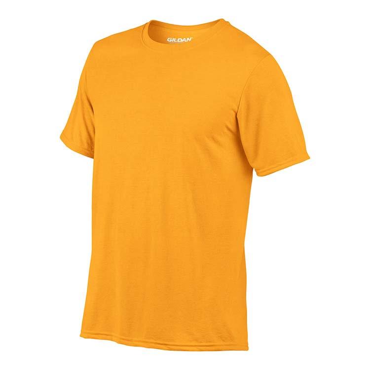 T-shirt Gildan Performance 42000 pour adulte - Or #4