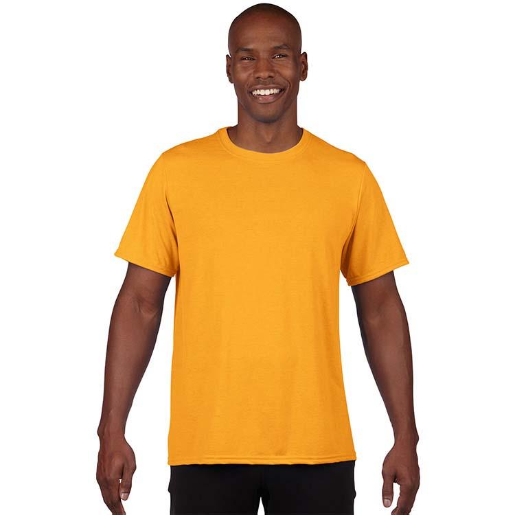 T-shirt Gildan Performance 42000 pour adulte - Or