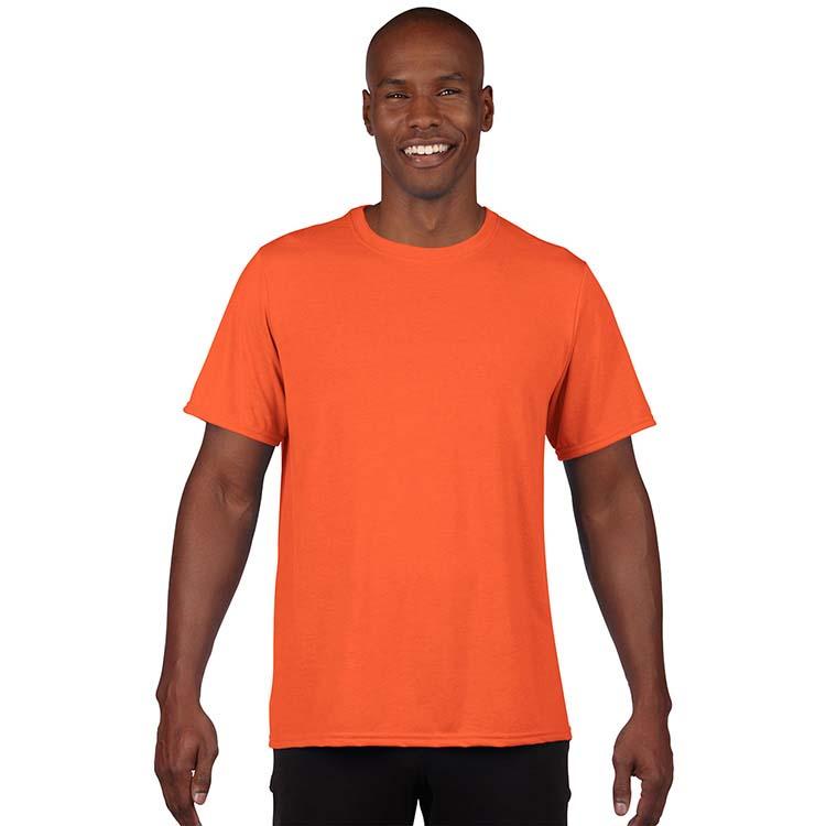 T-shirt Gildan Performance 42000 pour adulte - Orange