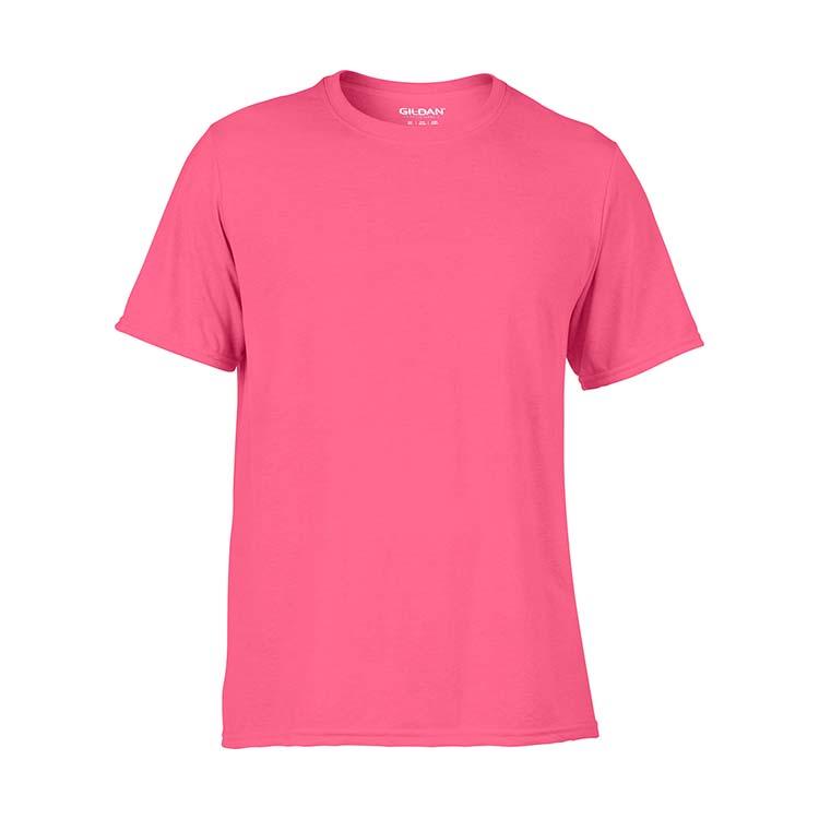 T-shirt Gildan Performance 42000 pour adulte - Rose de sécurité #3