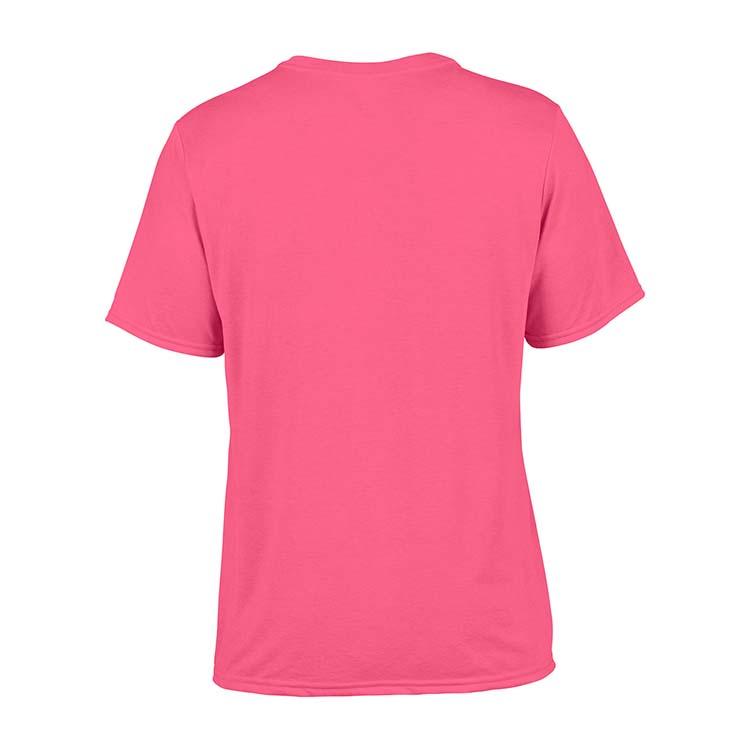 T-shirt Gildan Performance 42000 pour adulte - Rose de sécurité #5