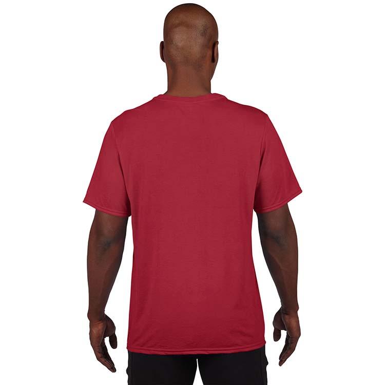 T-shirt Gildan Performance 42000 pour adulte - Rouge cardinal #2
