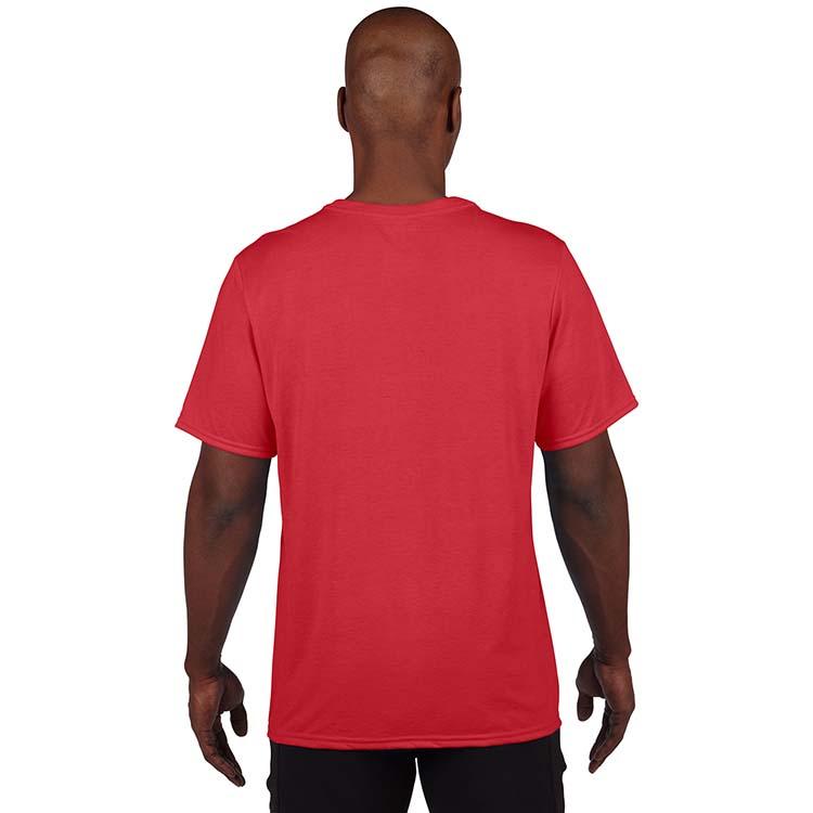 T-shirt Gildan Performance 42000 pour adulte - Rouge #2