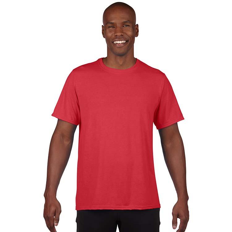T-shirt Gildan Performance 42000 pour adulte - Rouge