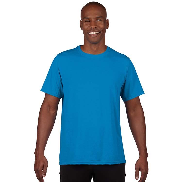 T-shirt Gildan Performance 42000 pour adulte - Saphir