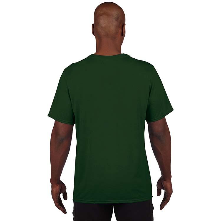 T-shirt Gildan Performance 42000 pour adulte - Vert forêt #2