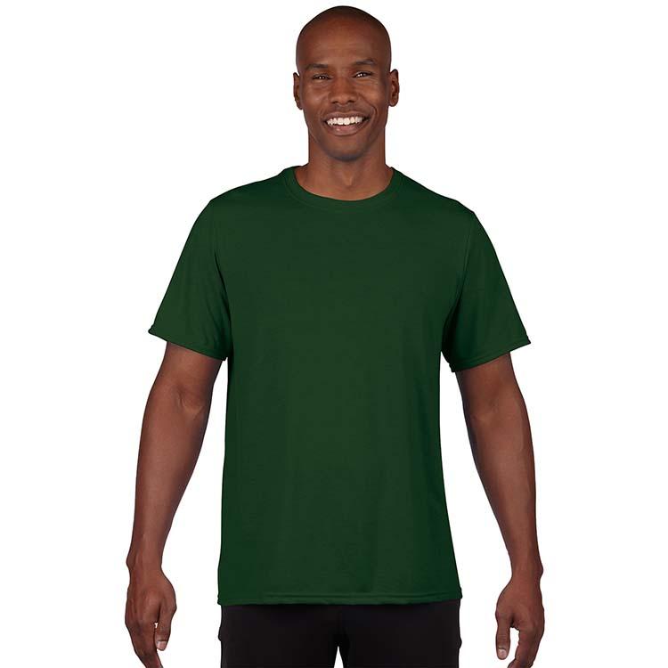 T-shirt Gildan Performance 42000 pour adulte - Vert forêt