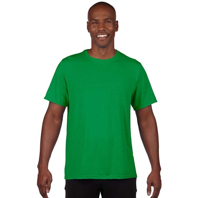 T-shirt Gildan Performance 42000 pour adulte - Vert Irlandais