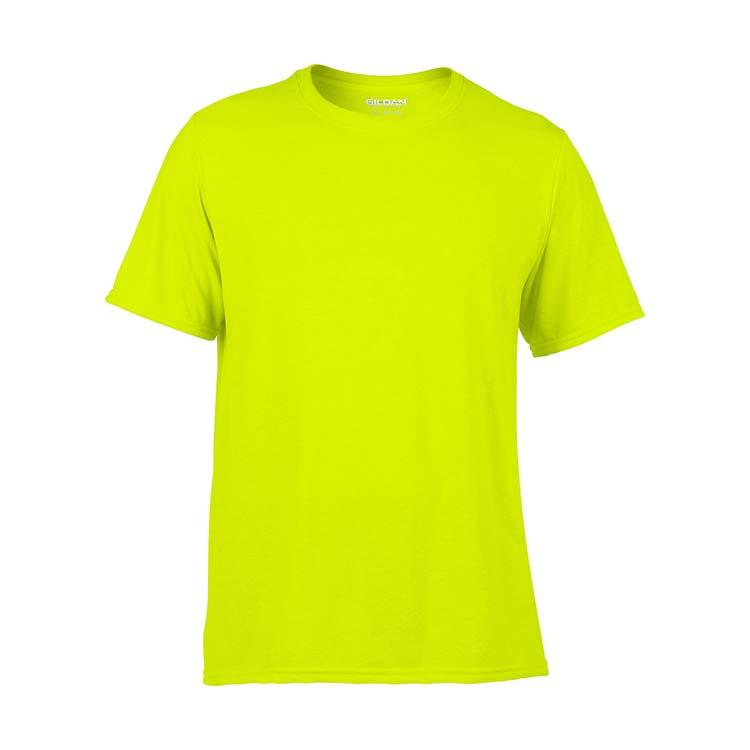 T-shirt Gildan Performance 42000 pour adulte - Vert sécurité #3