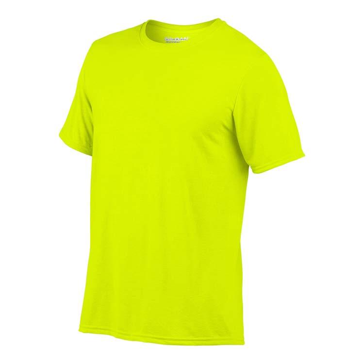 T-shirt Gildan Performance 42000 pour adulte - Vert sécurité #4