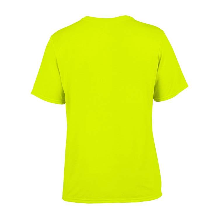 T-shirt Gildan Performance 42000 pour adulte - Vert sécurité #5
