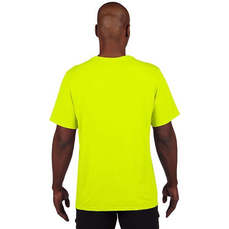 T-shirt Gildan Performance 42000 pour adulte - Vert sécurité #2