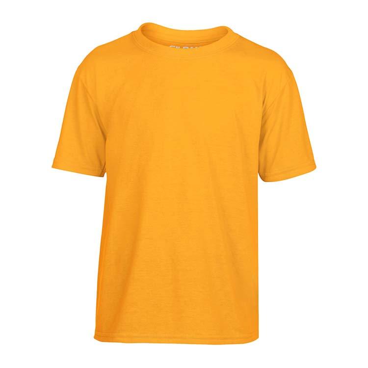 T-shirt Gildan Performance 42000B pour enfant - Or #3