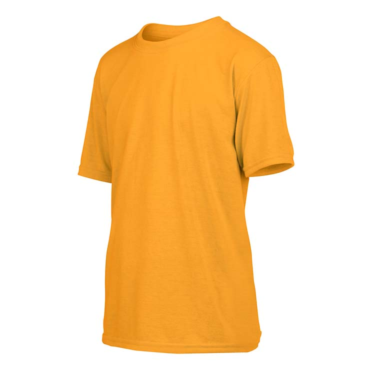 T-shirt Gildan Performance 42000B pour enfant - Or #4