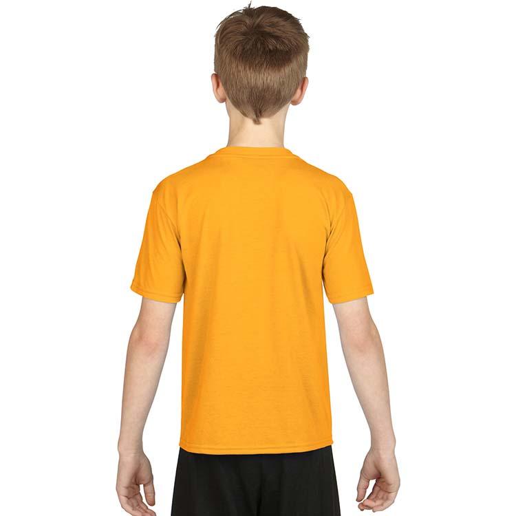T-shirt Gildan Performance 42000B pour enfant - Or #2