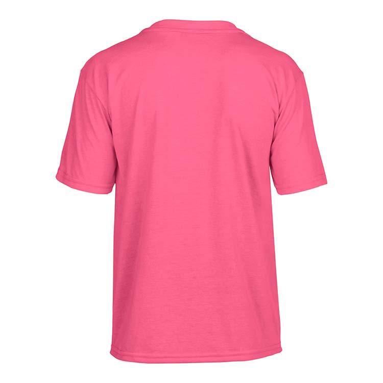 T-shirt Gildan Performance 42000B pour enfant - Rose de sécurité #5