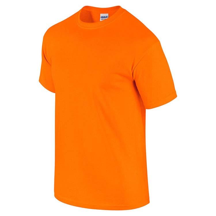 T-shirt Gildan 2000 pour adulte - Orange sécurité #4