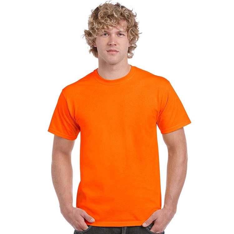 T-shirt Gildan 2000 pour adulte - Orange sécurité