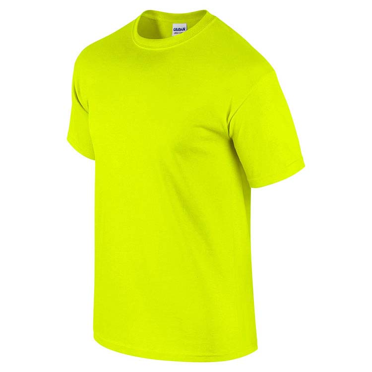T-shirt Gildan 2000 pour adulte - Vert sécurité #4
