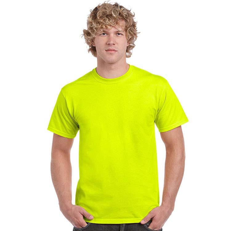 T-shirt Gildan 2000 pour adulte - Vert sécurité