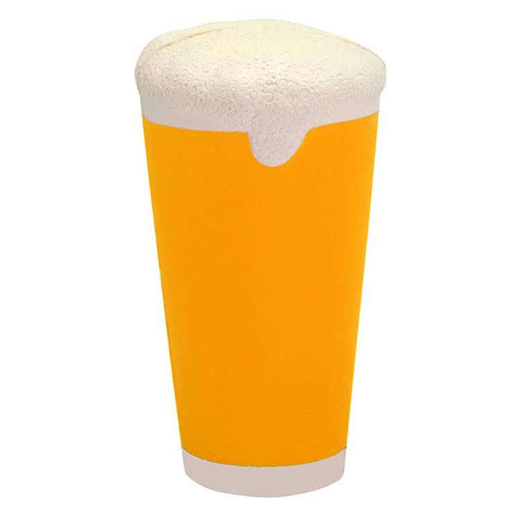 Verre de bière anti-stress