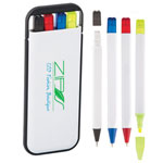 ABS Hard Case 4-IN-1 Pen Set