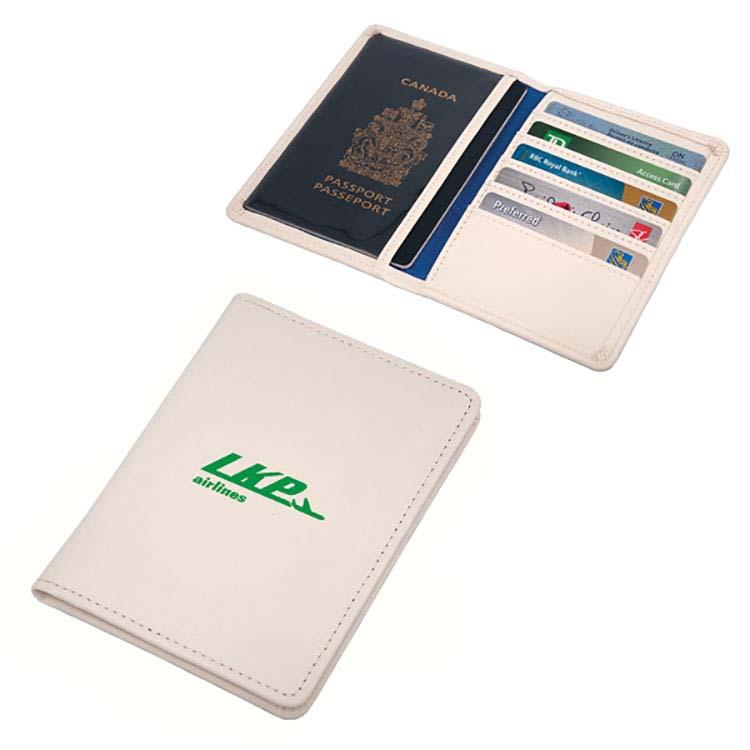 Étui à passeport en simili cuir #2