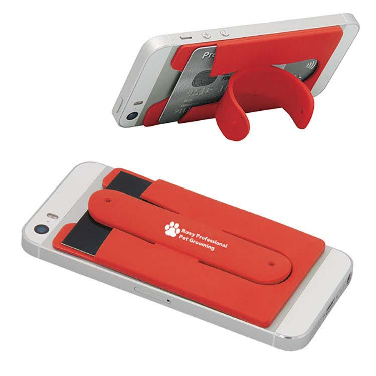 Porte cartes avec support pour cellulaire #3
