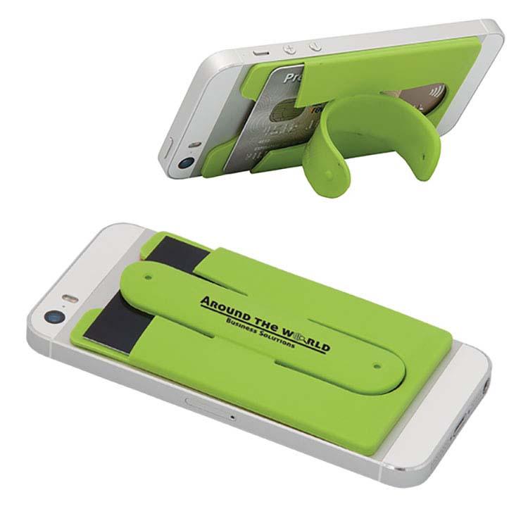 Porte cartes avec support pour cellulaire #2