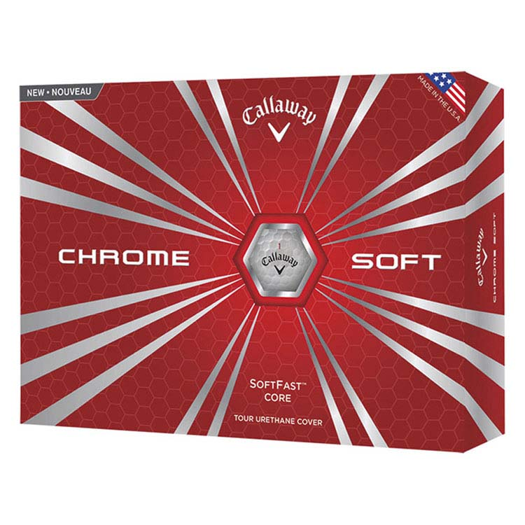 Balle de golf Callaway Chrome Soft Std Serv