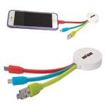 Câble de chargement OTG 3-en-1