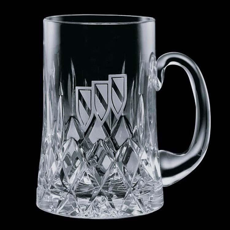 Chope à bière en cristal Denby 21 onces