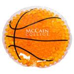 Coussin chaud/froid en forme de ballon de basket
