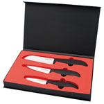 Ensemble de 3 couteaux en céramique