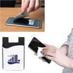 Étui pour téléphone intelligent avec nettoyeur