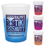 Color Changing Polypropylene Stadium Cup - 16 oz