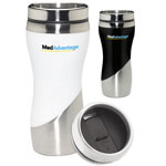 Curve Stainless Steel Tumbler 16 oz