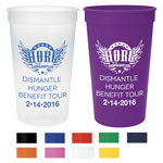 Large Plastic Stadium Cup - 22 oz