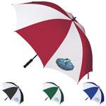 Grand parapluie de golf avec cadre en fibre de verre
