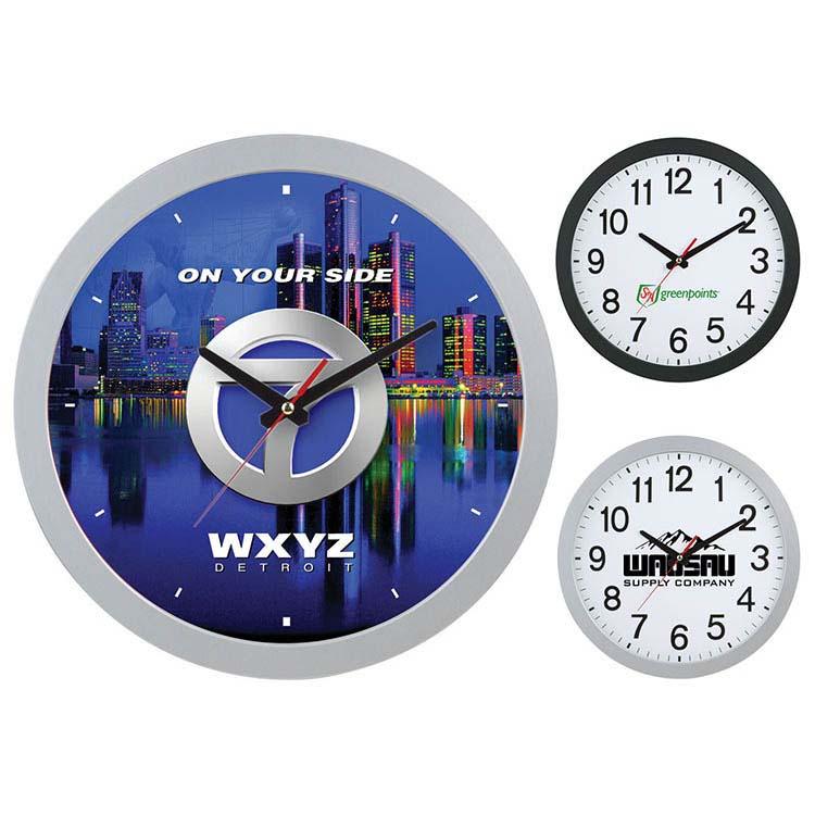 Horloge murale de 12 pouces